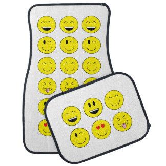 """""""Emojis"""" Auto-Matten-volles Set Automatte"""
