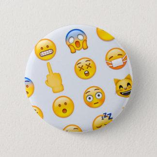 Emojis Knopf Runder Button 5,1 Cm