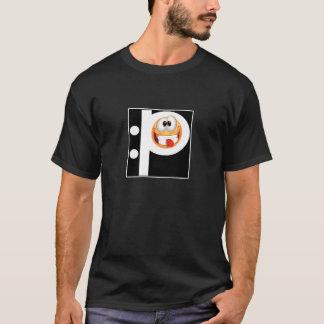 Emoticon, der heraus Zunge haftet T-Shirt
