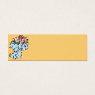 Empfangs-Platz-Einstellungs-Karten Mini Visitenkarte