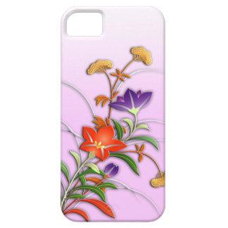 Empfindliche Herbst-Blumen Hülle Fürs iPhone 5