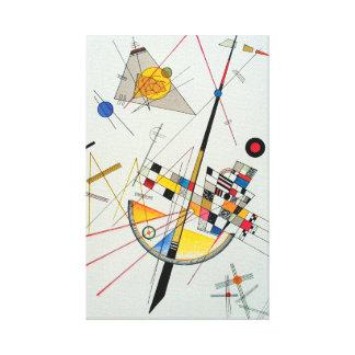 Empfindliche Spannung durch Wassily Kandinsky Leinwanddruck