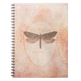 Empfindliches Schönheits-Notizbuch Spiral Notizblock