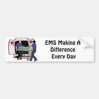 EMS, der einen Unterschied jeden Tag macht Autoaufkleber