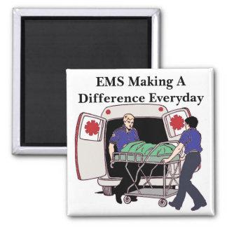 EMS, der täglich unterscheidet Quadratischer Magnet