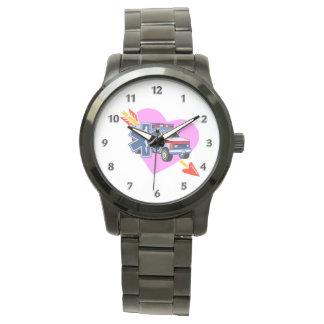 Ems-Herz von Sorgfalt Armbanduhr