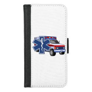 Ems-Krankenwagen iPhone 8/7 Geldbeutel-Hülle