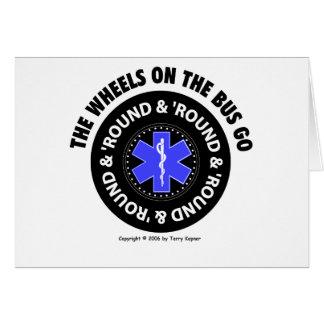 EMS - Räder auf dem Bus - Reifen #2, Karte