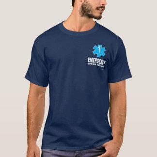 Ems-Shirt mit kleinem Text T-Shirt