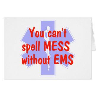 EMS-Sie können Verwirrung nicht ohne EMS, Karte