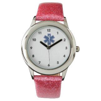 Ems-Stern des Lebens Armbanduhr