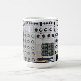 EMS Synthi ein synthesizer Kaffeetasse