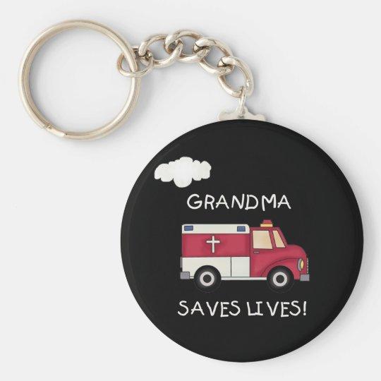 EMT Großmutter rettet die Leben Schlüsselanhänger