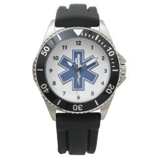 EMT Sanitäter EMS-Stern des Lebens Uhr