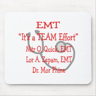 """EMT """"Team-Bemühung"""" unglaublich witzig Mousepads"""