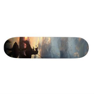 Ende der Spur 21,6 Cm Skateboard Deck