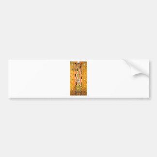 Ende Gustav Klimt der Wand Autoaufkleber