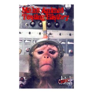 Enden-Tierversuche Bedruckte Flyer