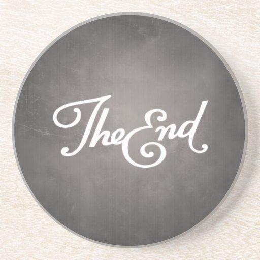 Enden-Titel-Karten-Untersetzer