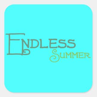 Endloser Sommer! Aufkleber