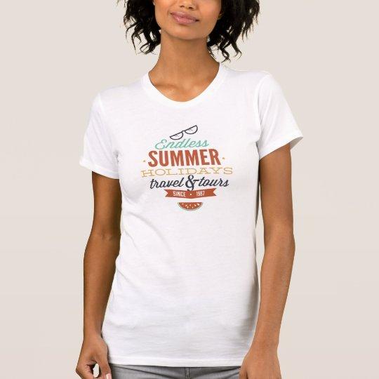 Endloser Sommerferien-T - Shirt