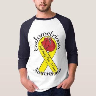 ENDOMETRIOSIS-BEWUSSTSEIN 3/4 Hülseraglan-T - T-Shirt