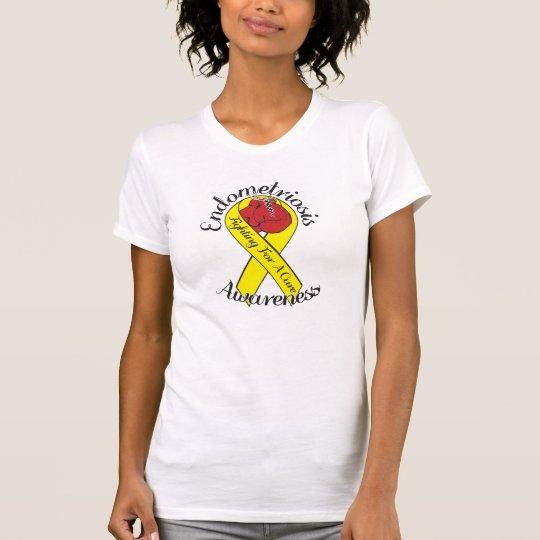 ENDOMETRIOSIS-BEWUSSTSEIN amerikanischer KleiderT T-Shirt