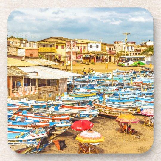 Engabao Strand an Guayas Bezirk Ecuador Untersetzer