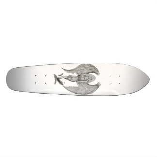 Engel - Black and white design Personalisierte Skateboarddecks