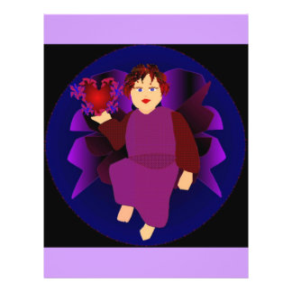 Engel der Herzen II Personalisierte Flyer