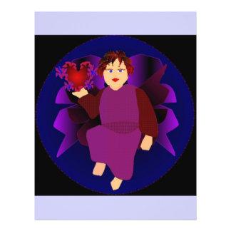 Engel der Herzen IV Personalisierte Flyer