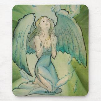 Engel des Friedens Mauspad