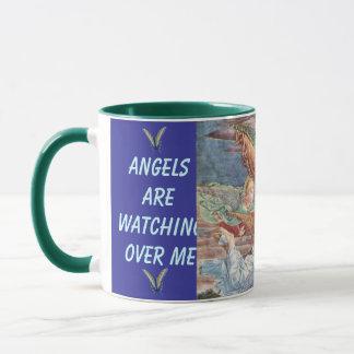 Engel, die über mich Reise-Tasse aufpassen Tasse