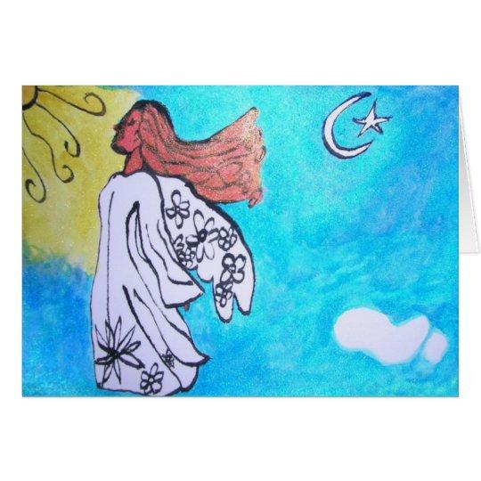 Engel Grußkarte