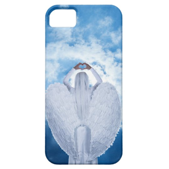 Engel in den Wolken iPhone 5 Schutzhüllen