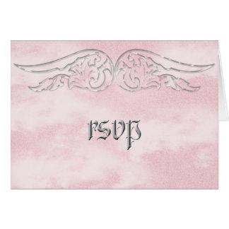 Engels-Flügel-Bonbon 16 Geburtstag UAWG Karte