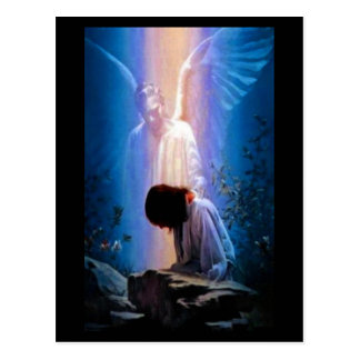 Engels-Gebet Postkarte