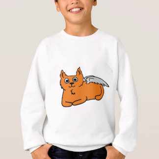 Engels-Katze Sweatshirt