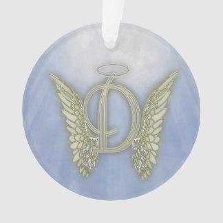 Engels-Monogramm des Buchstabe-D Ornament