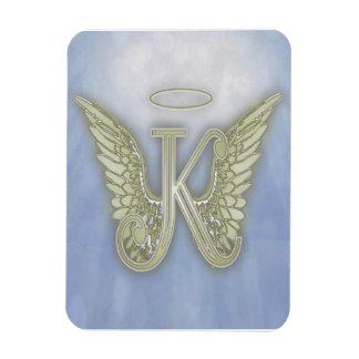 Engels-Monogramm des Buchstabe-K Magnet