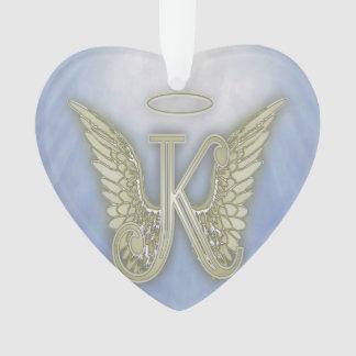 Engels-Monogramm des Buchstabe-K Ornament