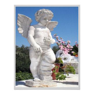 Engels-Statue in Grau III