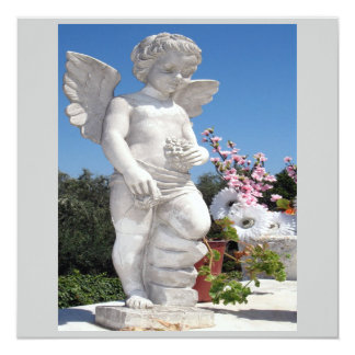 Engels-Statue in Grauem und in Weiß VI Ankündigung