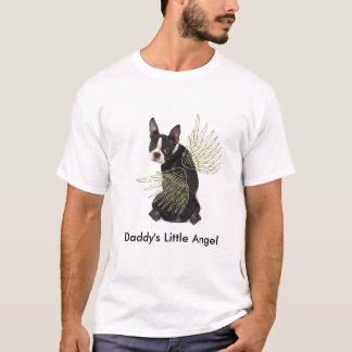 Engels-T-Shirt des Bostons Terrier des Vatis wenig T-Shirt