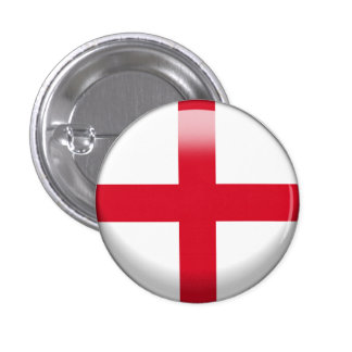 England-Flagge Runder Button 2,5 Cm