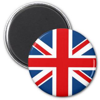 England-Gewerkschafts-Jack/britischer Runder Magnet 5,7 Cm