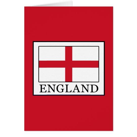 England Grußkarte