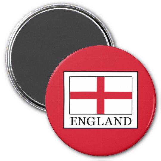 England Runder Magnet 7,6 Cm
