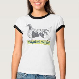 Englischer Setzer - blaues belton T-Shirt