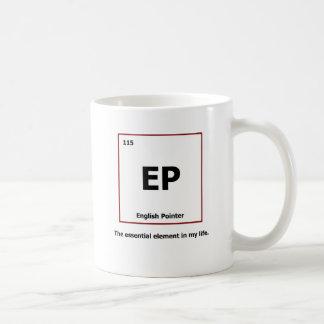 Englischer Zeiger - Element Kaffeetasse